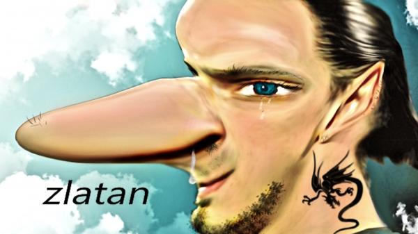 Zlatan Ibrahimovic by jadedemarseille